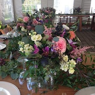 Wedding Florist in Fairfield County | farmhouse flowers